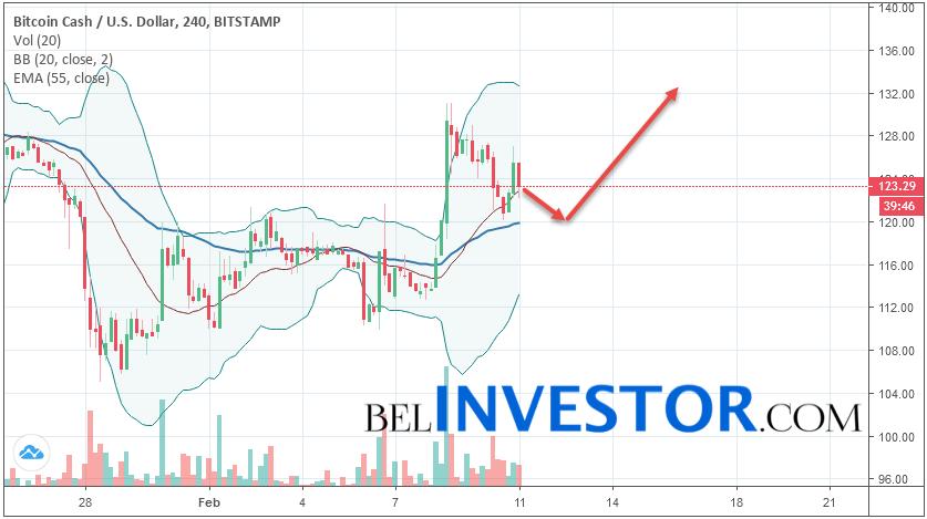 Bitcoin Cash BCH/USD прогноз на сегодня 11 февраля 2019