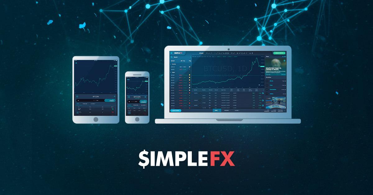 SimpleFX WebTrader - торговая платформа с самыми быстрыми темпами развития