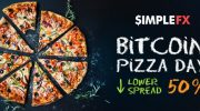 Снижаем спреды на 50% в Bitcoin Pizza Day!