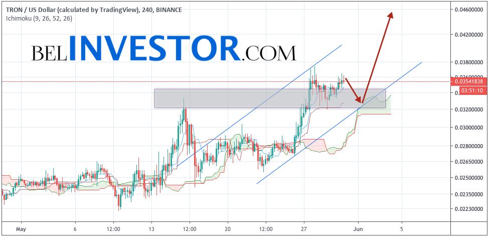 TRX/USD прогноз криптовалюты TRON на 31 мая 2019